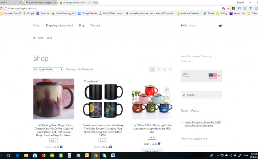 Adding Products to your eCommerce Website